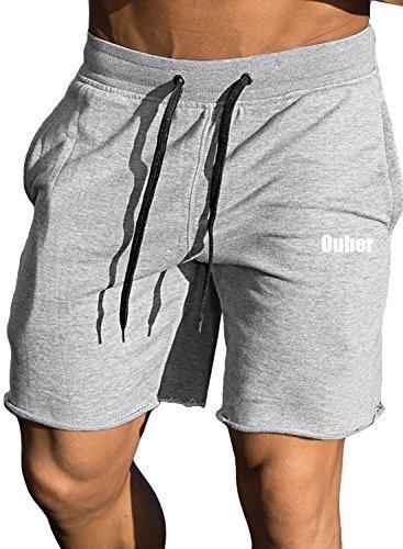 Ouber Men's Bodybuilding Shorts