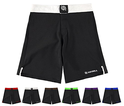 Epic MMA Gear Blank WOD Shorts with Side Pocket /& Side Slit Pull On