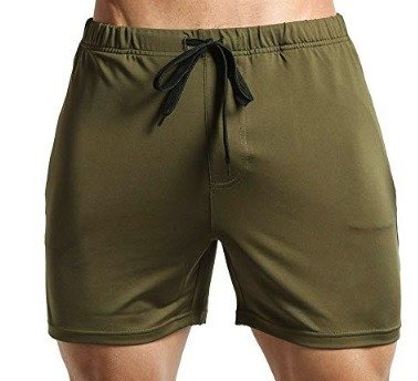 Tough Mode Men's Fitted WOD Shorts
