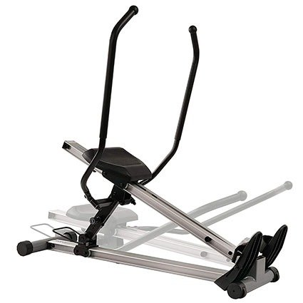 Sunny Health and Fitness Incline Full Motion Rowing Machine