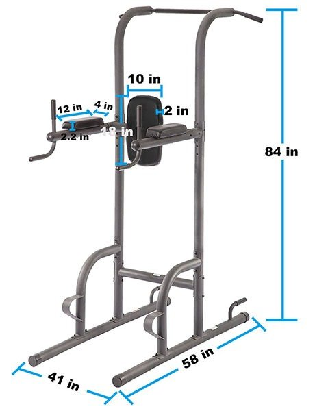 BestMassage Power Tower Dimensions