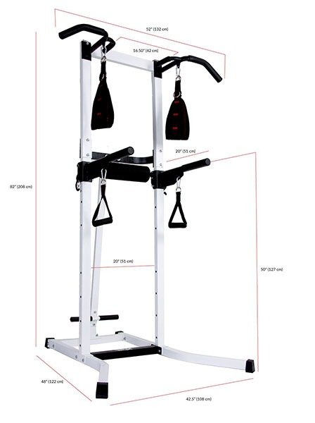 Body Power Multi-Functional Power Tower