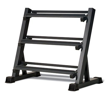 Marcy 3-Tier Dumbbell Rack Multilevel