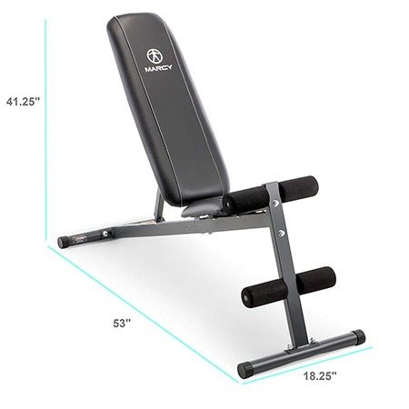 Marcy Exercise Utility Bench Specs