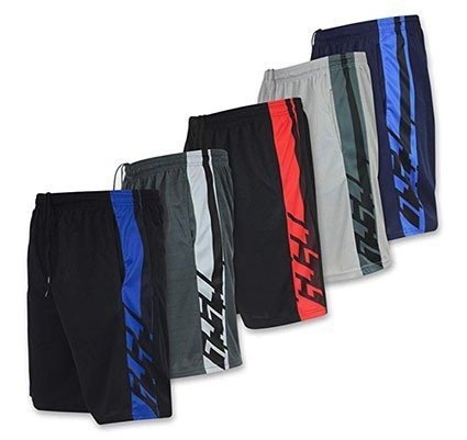 Real Essentials Men's Performance Shorts