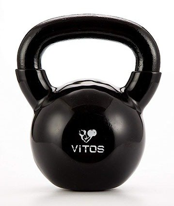 Vitos Fitness Vinyl Coated Kettlebell