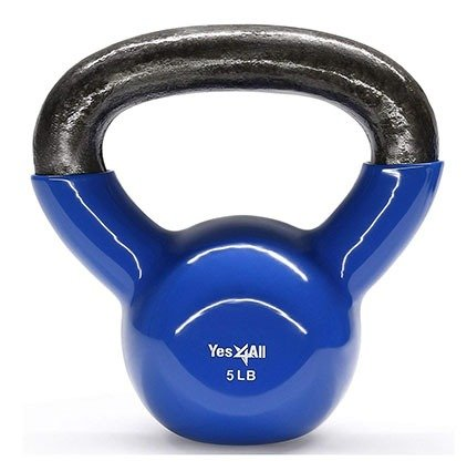 Yes4All Vinyl Coated Kettlebells