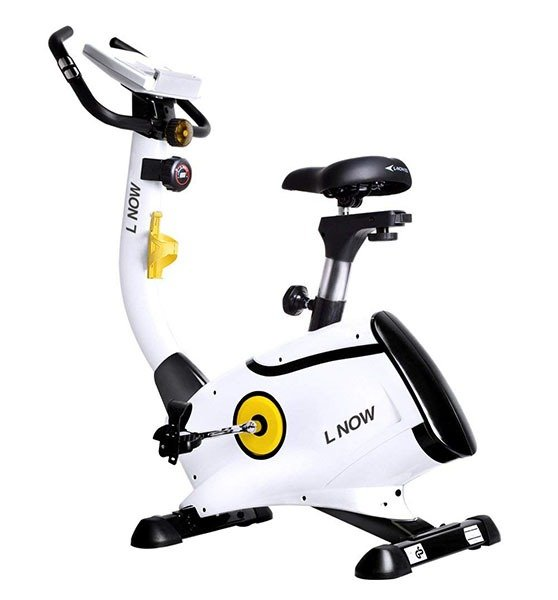L NOW Upright Exercise Bike