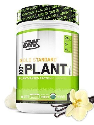Optimum Nutrition Organic Plant Based Vegan Protein Powder
