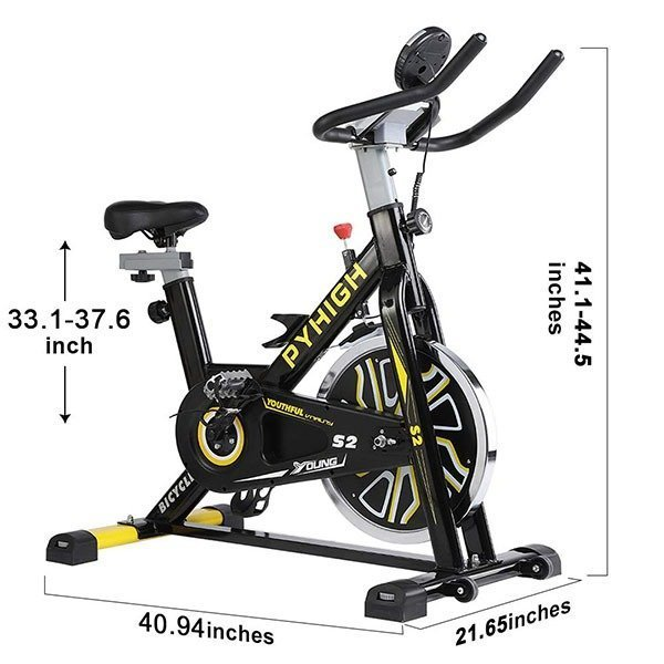 Pyhigh indoor exercise bike dimensions