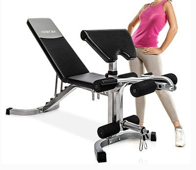 Merax Weight Bench with Leg Developer