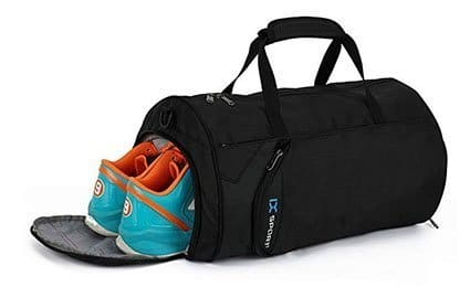 INOXTO Fitness Sport Small Gym Bag with Shoes Compartment