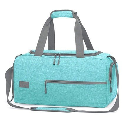 MarsBro Water Resistant Sports Gym Bag with Shoe Compartment