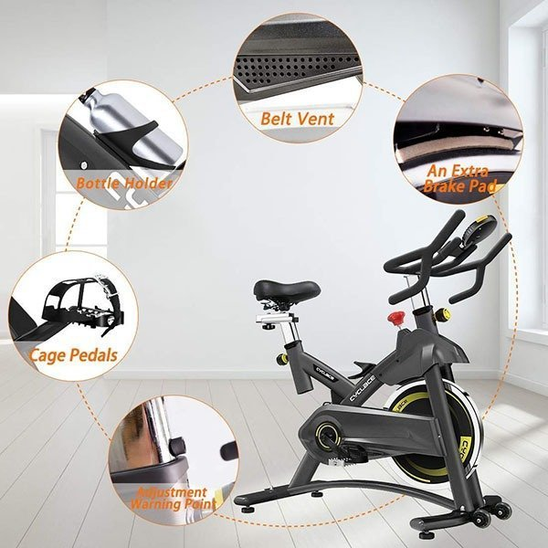 Cyclace Exercise Bike Stationary Stats