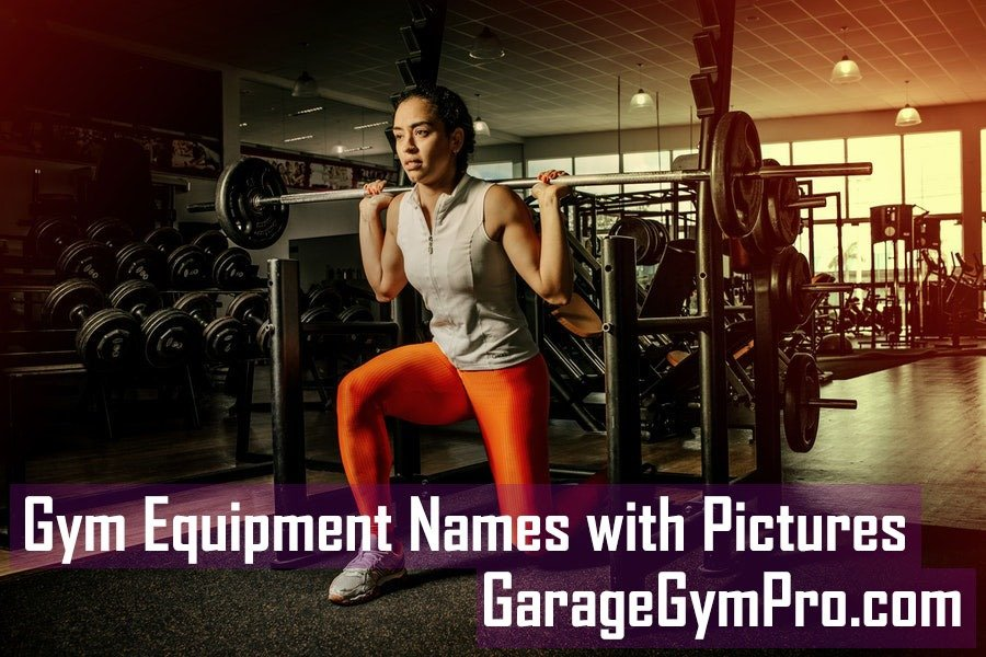 Gym Equipment Names with Pictures