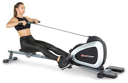 Fitness Reality 1000 Plus Bluetooth Magnetic Rowing Machine