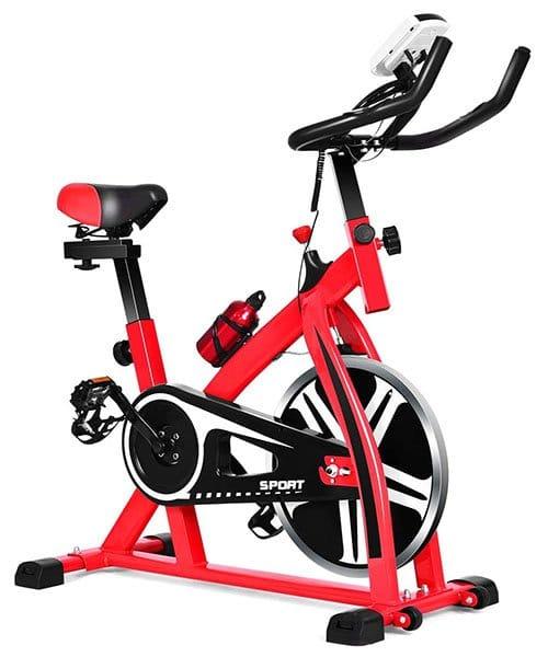 GYMAX Indoor Exercise Bike