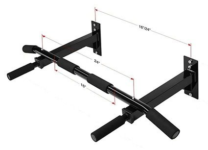 Iron Core Athletics Adjustable Stud Pull Up Bar