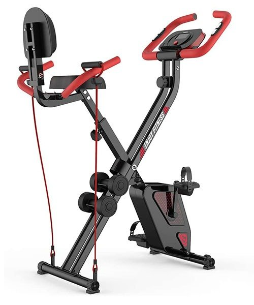 Pooboo X7 Folding Exercise Bike