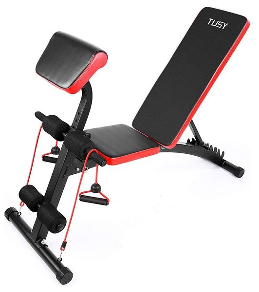 TUSY Adjustable Weight Bench