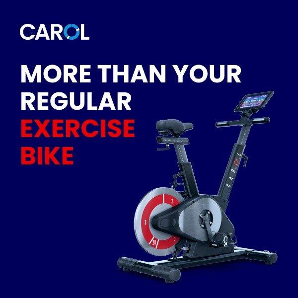 Carol - More than Regular Exercise Bike