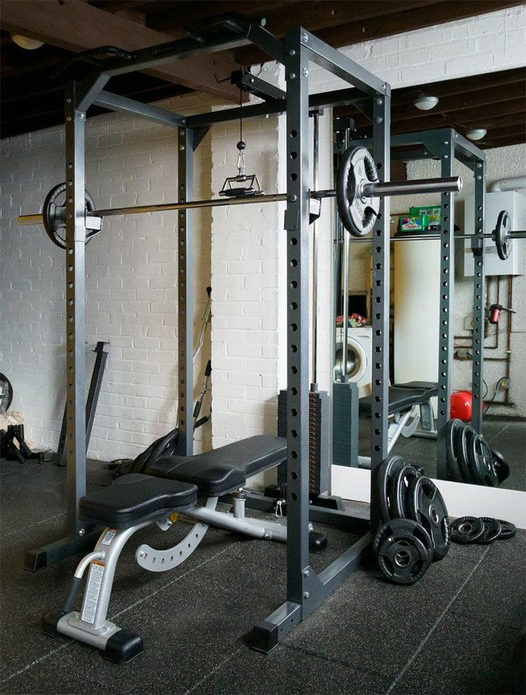 Home Gym ideas Single Garage
